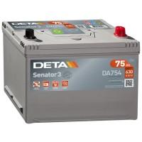 Аккумулятор DETA Senator3 DA754 / 75Ah