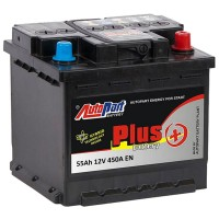 Аккумулятор AutoPart Plus 555-100 / 55Ah