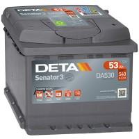 Аккумулятор DETA Senator3 DA530 / 53Ah