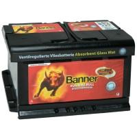 Аккумулятор Banner Running Bull AGM 580 01 / 80Ah