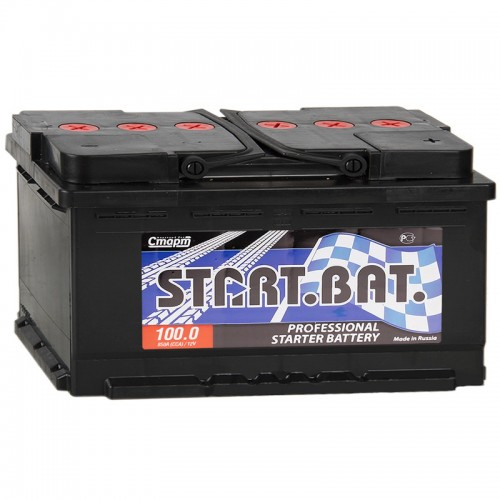 Аккумулятор Стартбат 6СТ-100-А3 / 100Ah