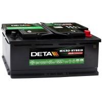 Аккумулятор DETA Start-Stop AGM DK1050 / 105Ah