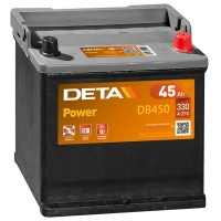 Аккумулятор DETA Power DB450 / 45Ah