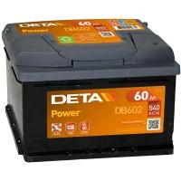 Аккумулятор DETA Power DB602 / 60Ah / Низкий