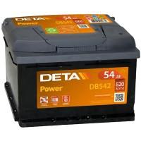 Аккумулятор DETA Power DB542 / 54Ah / Низкий