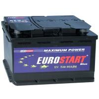 Аккумулятор Eurostart Blue 6CT-75 / 75Ah