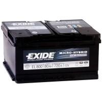 Аккумулятор Exide Micro-Hybrid ECM EL800 / 80Ah