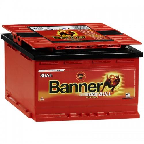Аккумулятор Banner Uni Bull / 80Ah