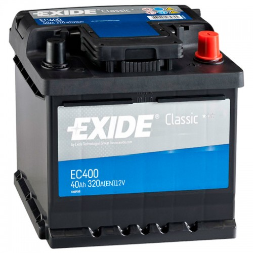 Аккумулятор Exide Classic EC400 / 40Ah