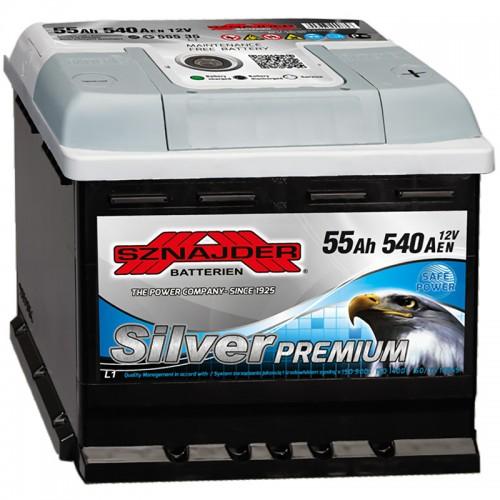 Аккумулятор Sznajder Silver Premium / 555 35 R / 55Ah