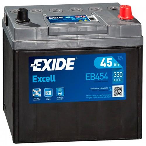 Аккумулятор Exide Excell EB454 / 45Ah