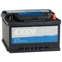 Аккумулятор Exide Classic EC652 / 65Ah / Низкий