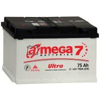 Аккумулятор A-Mega Ultra / 75Ah / 790А / Прямая полярность / 278 x 175 x 190